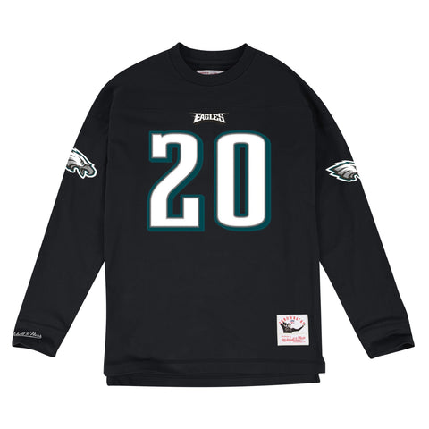 Brian Dawkins Philadelphia Eagles NFL Mitchell & Ness Men's Black Men Knit