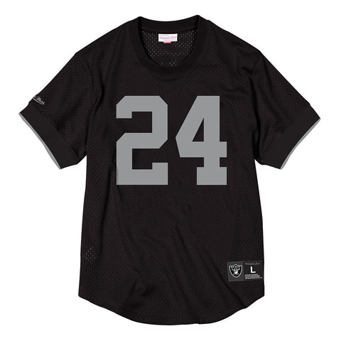 Charles Woodson Los Angeles Raiders Mitchell & Ness Mesh Crew Neck Jersey Men's