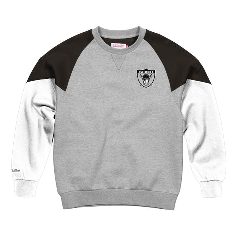 Oakland Raiders NFL Mitchell & Ness Men's Grey Men Sweatshirt