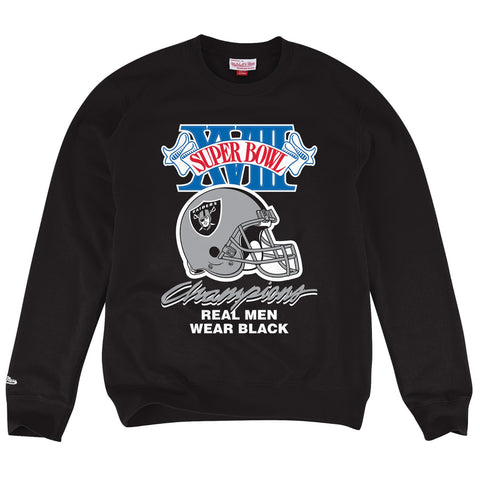 Oakland Raiders NFL Mitchell & Ness Men's Black Men Sweatshirt