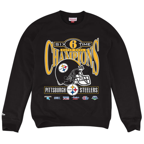Pittsburgh Steelers NFL Mitchell & Ness Men's Black Men Sweatshirt