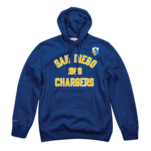 San Diego Chargers NFL Mitchell & Ness Men's Blue Men Hoodie