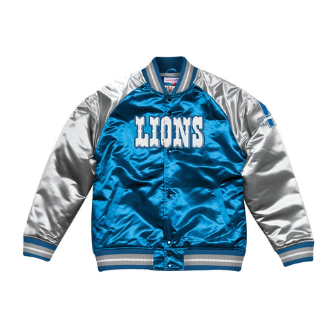 Detroit Lions NFL Mitchell & Ness Men's Blue Men Jacket