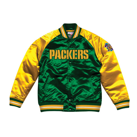 Green Bay Packers NFL Mitchell & Ness Men's Green Men Jacket