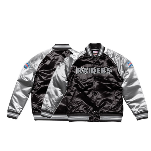 Oakland Raiders NFL Mitchell & Ness Men's Black Men Jacket