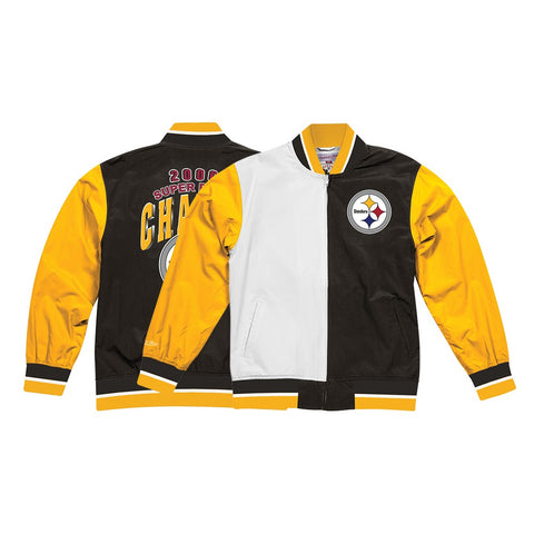 Pittsburgh Steelers Mitchell & Ness Men's Team History Warm Up 2.0 Jacket