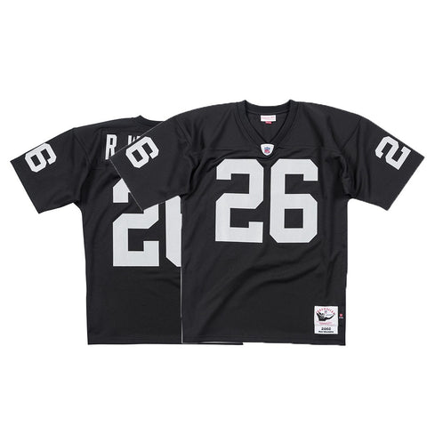 Rod Woodson Oakland Raiders NFL Mitchell & Ness Black 2002 Authentic Jersey