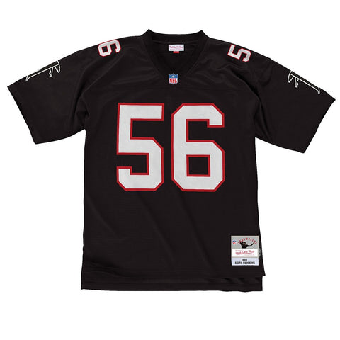 Keith Brooking 1998 Atlanta Falcons Mitchell & Ness Home Black Legacy Jersey