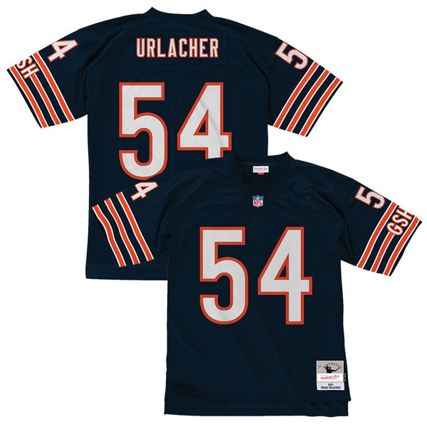 Brian Urlacher 2001 Chicago Bears Mitchell & Ness Men's NFL Navy Legacy Jersey