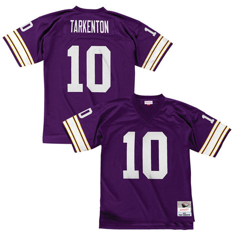 Fran Tarkenton 1975 Minnesota Vikings Mitchell & Ness Home Purple Legacy Jersey