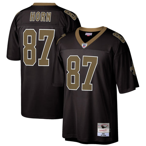 Joe Horn 2005 New Orleans Saints Mitchell & Ness Men's NFL Black Legacy Jersey