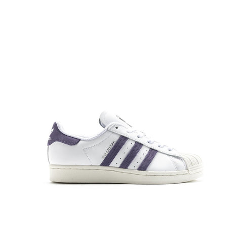 Adidas Superstar (Cloud White/Tech Purple/Off White) Women's Shoes FV3373