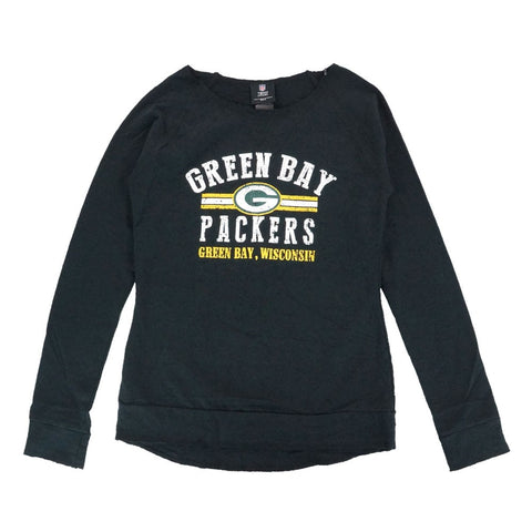 "Green Bay Packers NFL ""Neat Cleats"" Long Sleeve Crew Fashion Fleece Girls Youth"