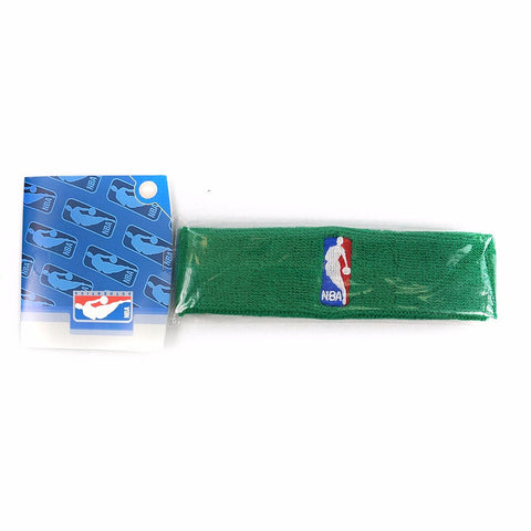 (1) Official NBA Authentic On-Court Green Headbands Men's