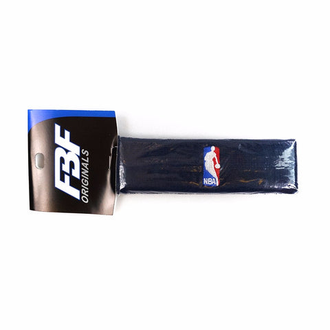 (1) Official NBA Authentic On-Court Navy Blue Headbands Men's