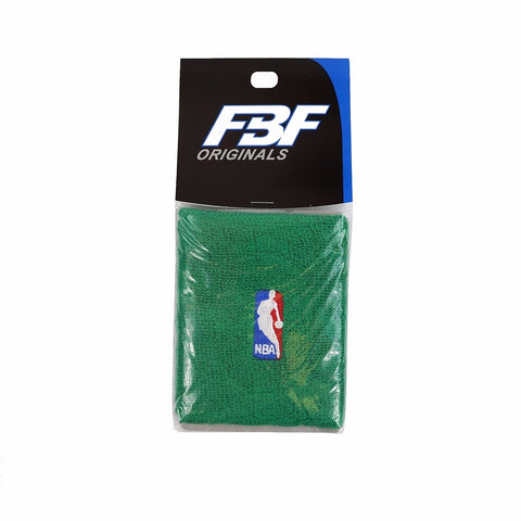 (1) Pair of Official NBA Dribbler Authentic On-Court Green Wristbands