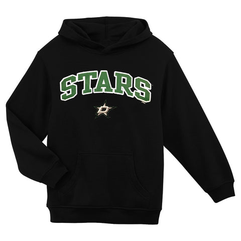 Dallas Stars NHL Primary Team Logo Black Pullover Hoodie Youth