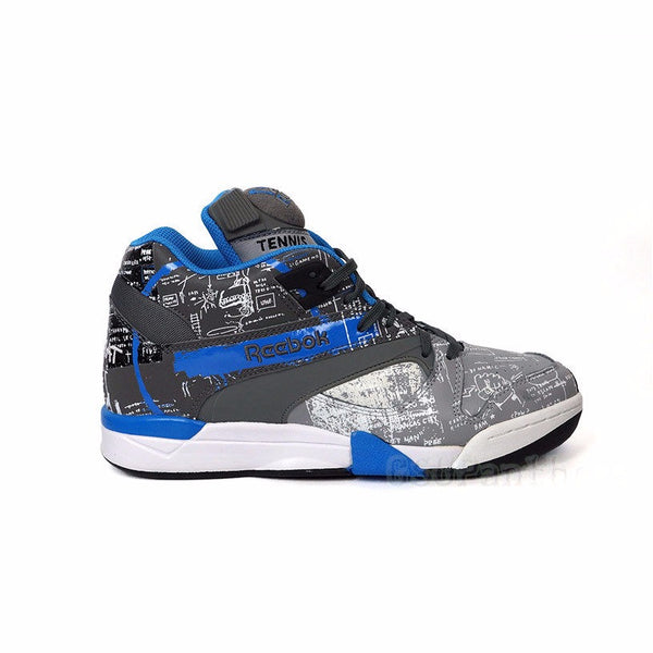 REEBOK CRT Vitory Pump Basquiat (BSQ/TIN GRY/CY GRY/RIVET) Men's Shoes J99568