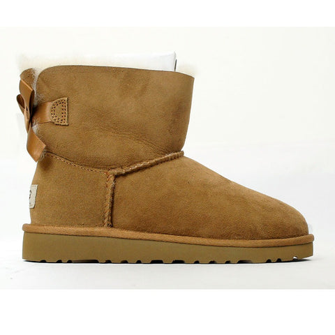 UGG Australia Mini Bailey (Chestnut) Kids  1005497