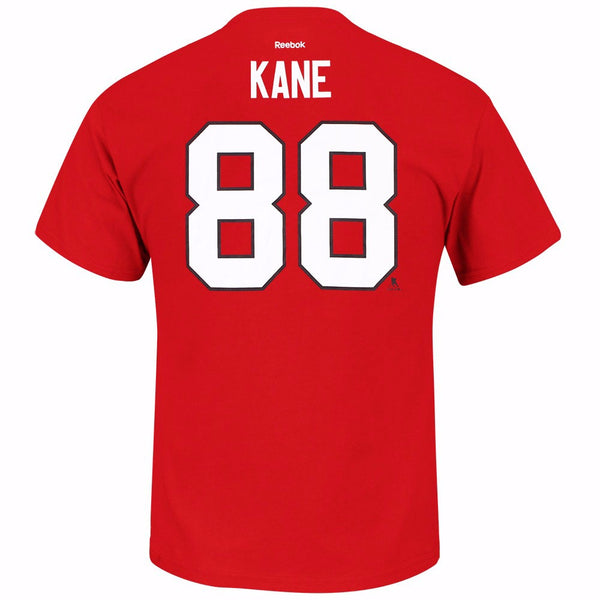 Patrick Kane Chicago Blackhawks NHL Reebok Red 2015 Stanley Cup Jersey T-Shirt