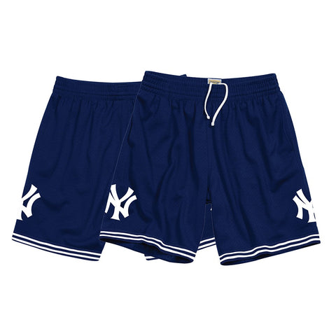 New York Yankees Mitchell & Ness Men's Swing For the Fence Navy Blue Shorts