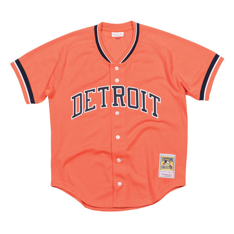 Kirk Gibson 1993 Detroit Tigers Mitchell & Ness MLB Batting Practice Jersey