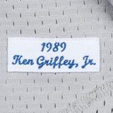 Ken Griffey Jr 1989 Mitchell & Ness Seattle Mariners Authentic Mesh Grey Jersey
