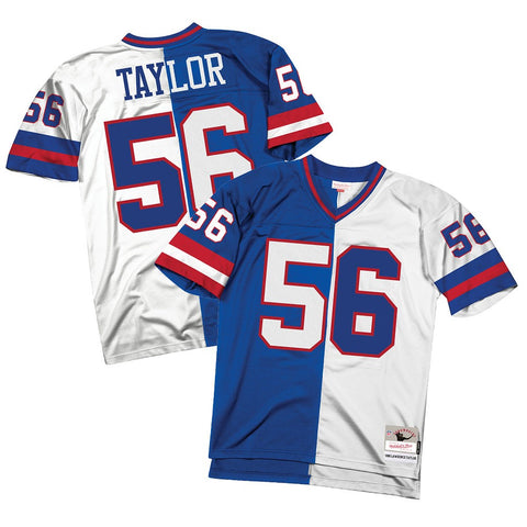 e729697d862 Lawrence Taylor 1986 New York Giants Mitchell & Ness NFL Men Split Legacy  Jersey
