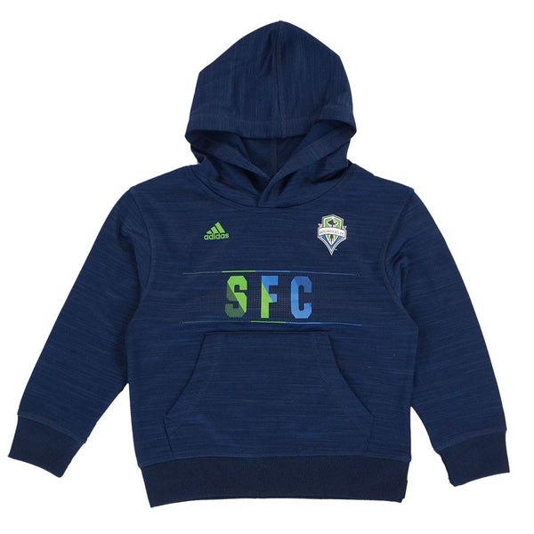 Seattle Sounders MLS Adidas Aeroband Ultimate Performance Pullover Hoodie Boys