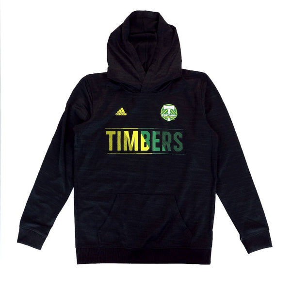 Portland Timbers MLS Adidas Aeroband Ultimate Performance Pullover Hoodie Youth