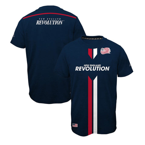 New England Revolution Adidas MLS Youth Navy Blue Ultimate Graphic T-Shirt