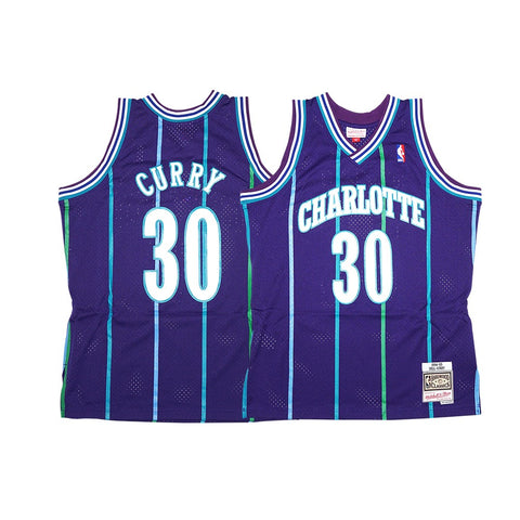 Dell Curry NBA 1994-95 Charlotte Hornets Mitchell & Ness Swingman Jersey