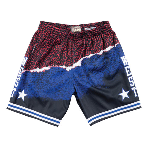 2003 All Star West NBA Sublimated Swingman Mitchell & Ness Men Shorts