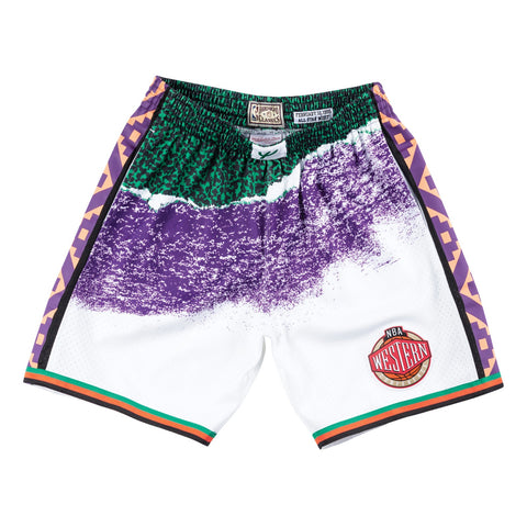 1995 All Star West NBA Sublimated Swingman Mitchell & Ness Men Shorts
