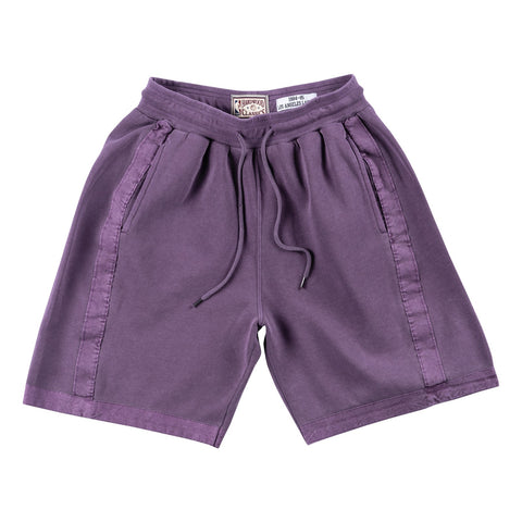 Los Angeles Lakers NBA Mitchell & Ness Purple 1984-85 Washed Out Swingman Shorts