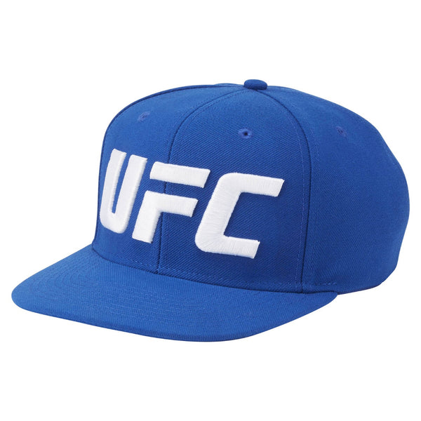 Reebok UFC Men's Blue Over Sized Flat Brim Snapback AL2063