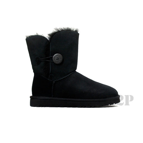 UGG Australia Bailey Button (Black) Women's  5803