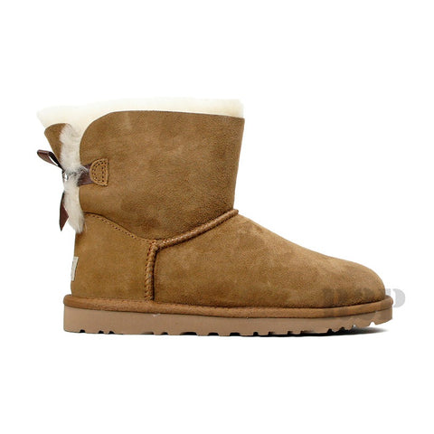 UGG Australia Mini Bailey (Chestnut) Women's  1005062