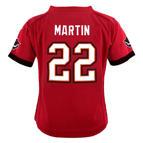 Doug Martin Tampa Bay Buccaneers Nike Home Red Game Jersey Boys (S-L)