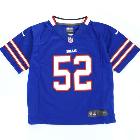 Jerry Hughes Buffalo Bills NFL Nike Boys Blue Home Game Jersey