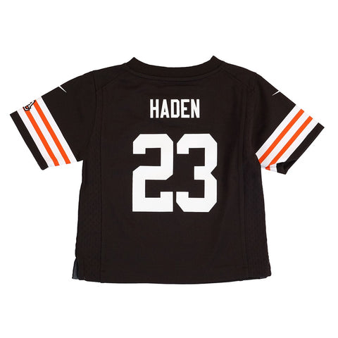 Joe Haden Cleveland Browns Nike Home Brown Jersey Boys (S-L)