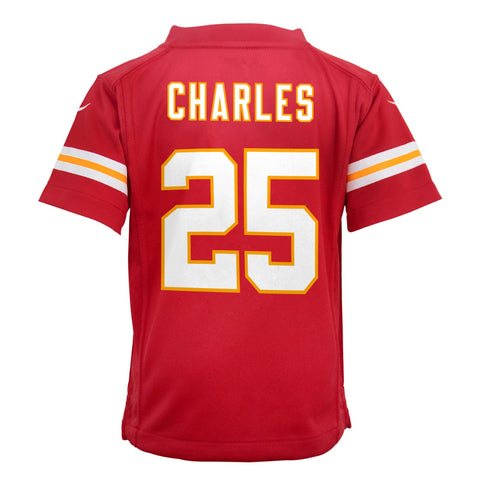 Jamaal Charles Kansas City Chiefs Nike Home Red Jersey Boys (S-L)