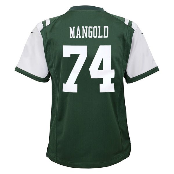 Nick Mangold New York Jets Nike Home Green Jersey Boys (S-L)