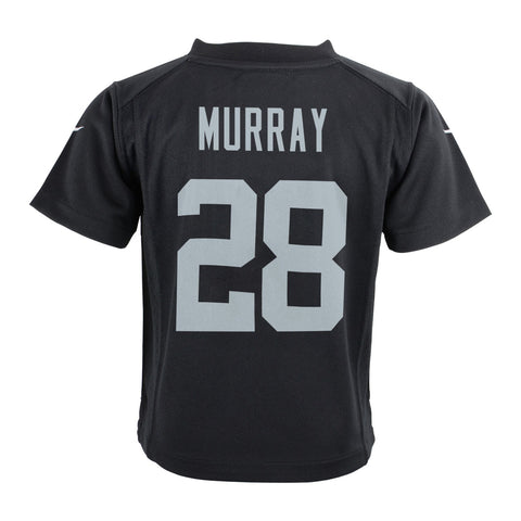 Latavius Murray Oakland Raiders Nike Home Black Jersey Boys (S-L)