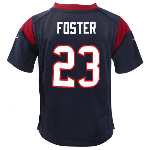 Arian Foster Houston Texans Nike Home Navy Blue Jersey Boys (S-L)