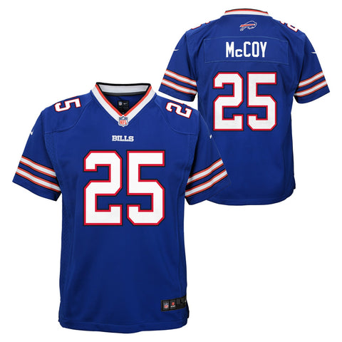 LeSean McCoy Buffalo Bills NFL Nike Youth Blue  Game Jersey