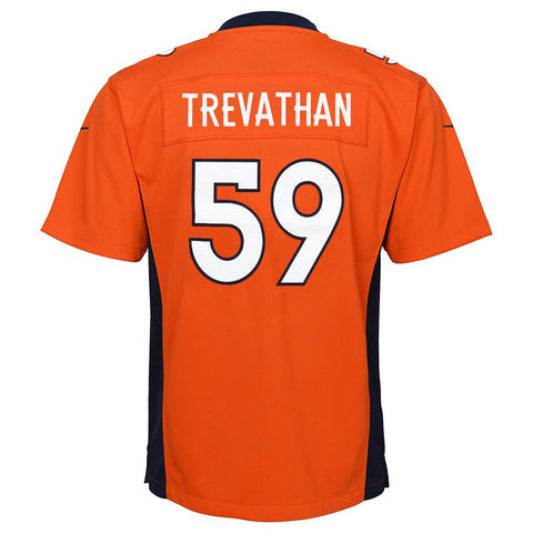 Danny Trevathan Denver Broncos Nike Home Orange Game Jersey Youth (S-XL)