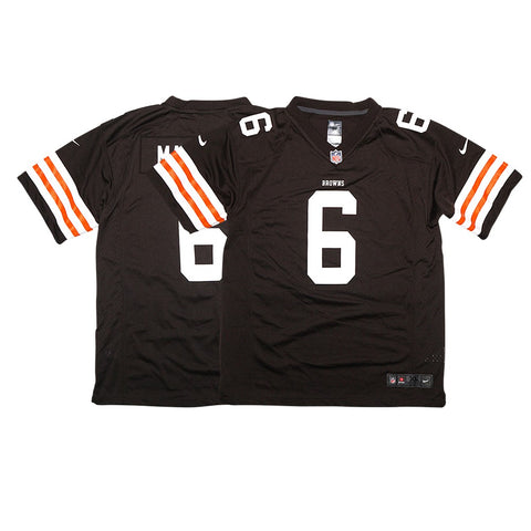 Baker Mayfield Cleveland Browns NFL Youth Nike Brown Home Game Jersey