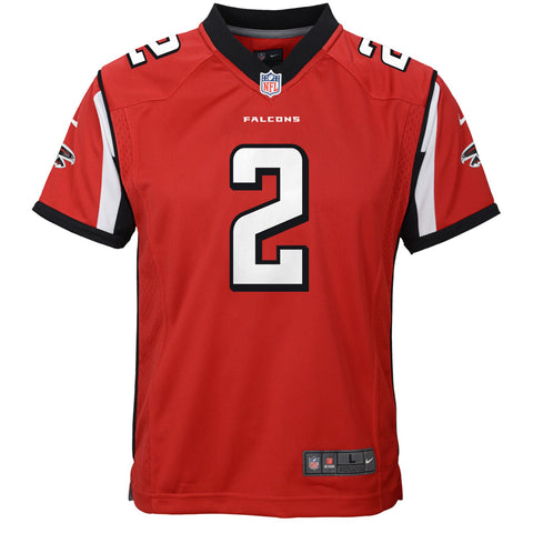 Matt Ryan Atlanta Falcons NFL Nike Youth Red Home Game Jersey