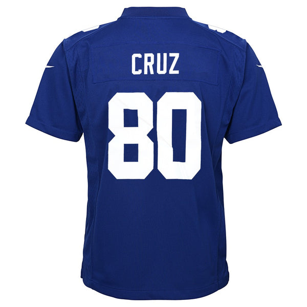 Victor Cruz New York Giants Nike Home Blue Game Jersey Youth (S-XL)
